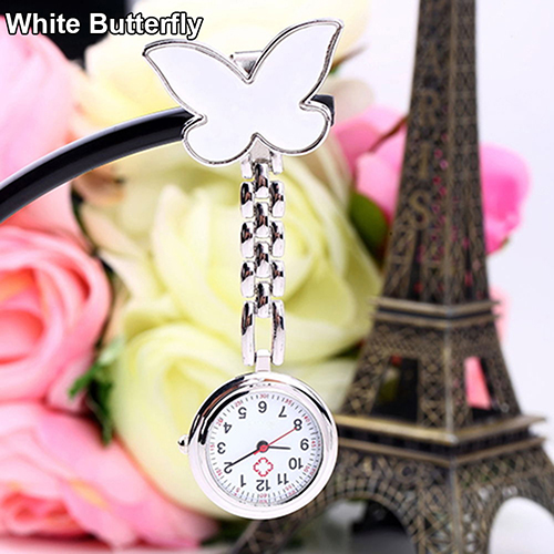Women-Butterfly-Smile-Face-Quartz-Clip-On-Brooch-Nurse-Hanging-Pocket-Watch-Stly thumbnail 22