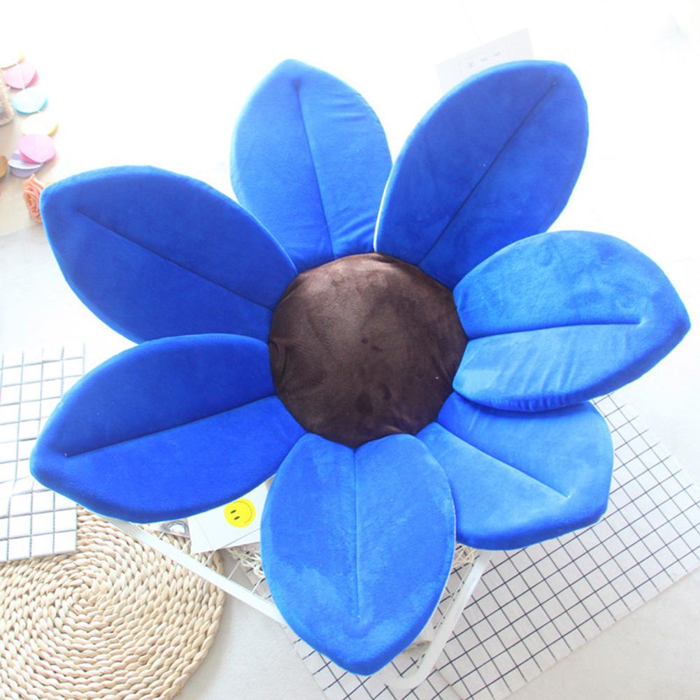 Baby Bathing Pad Newborn Plush Flower Pad Bath Tub Infant Shower Cushion Healthy