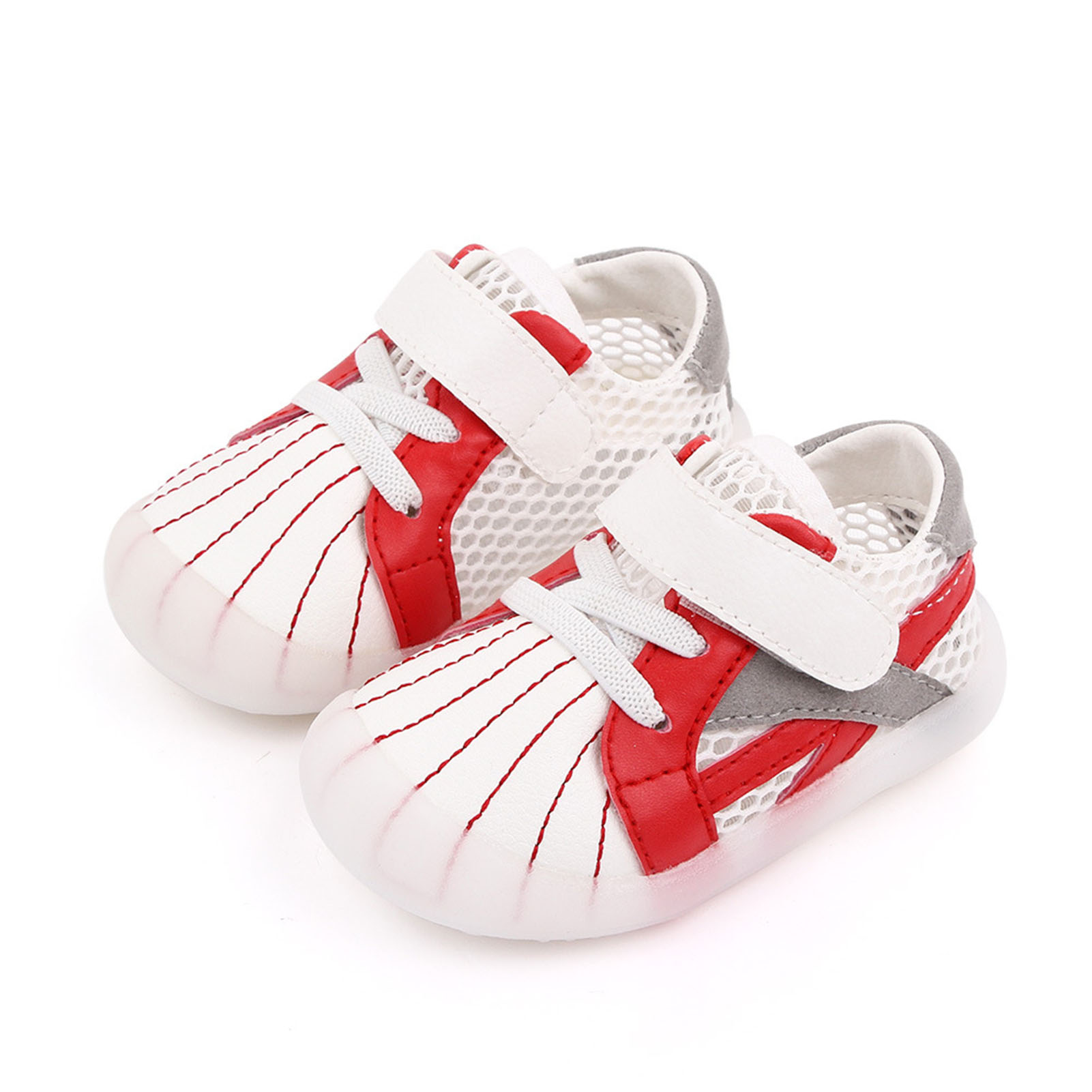 thumbnail 14 - Baby Infant Toddler Flat Slip-on Soft Sole Faux Leather Pre-Walkers Casual Shoes